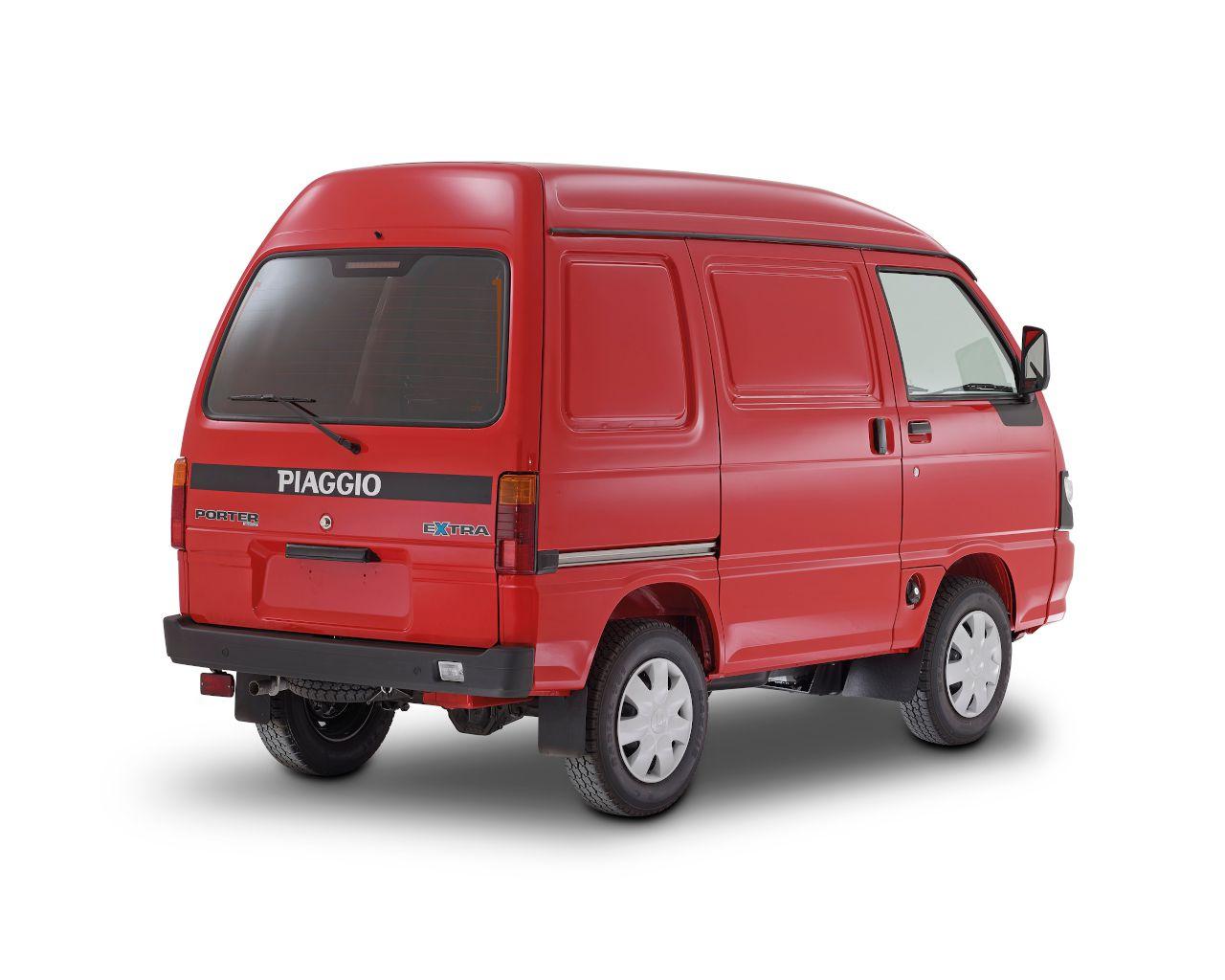 Piaggio Porter Κλειστού Τύπου Κόκκινο