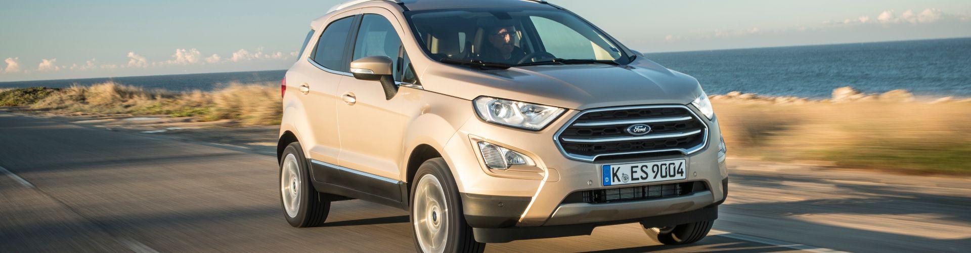 Ford Ecosport Connected - Α. Λιάπης Αντιπροσωπεία