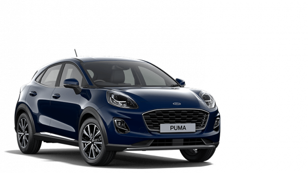 Ford Puma at Ford Liapis Car Dealership in Athens Greece