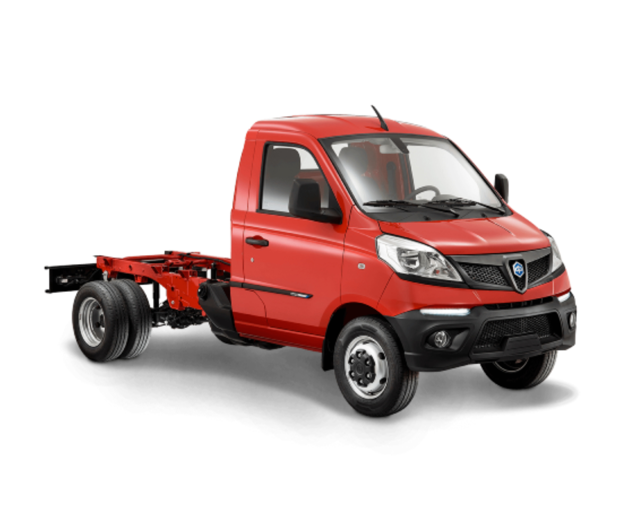 Piaggio Porter NP6 Chassis - Διπλός Τροχός